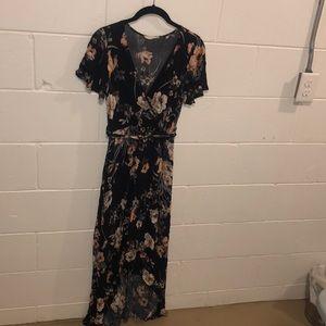 ILLA ILLA Floral Maxi Dress